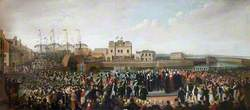 George IV Landing at Leith, 1822