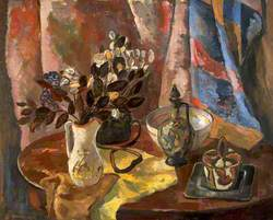 Still Life with an Oval Table