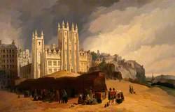 View of the Mound, Edinburgh