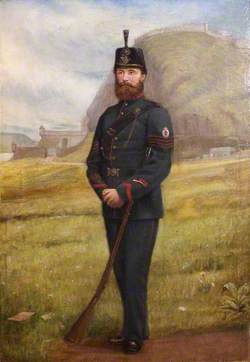 Sergeant A. Lawrence of the Dumbartonshire Volunteer Rifle Corp