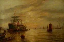 An Estuary Scene