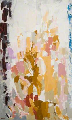 Abstract Pink and Brown