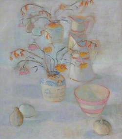 Flowers and Jugs