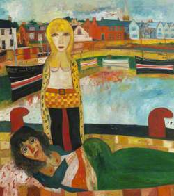 Two Girls by Harbour*