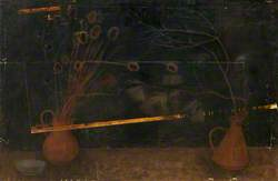 Still Life with Twigs and Teazles