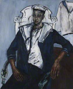 Seated Man in Sailor's Costume