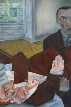 Two Men in an Interior