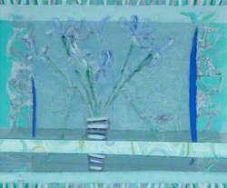 Faded Irises and Streamer