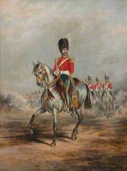 An Officer of the 2nd Royal North British Dragoons