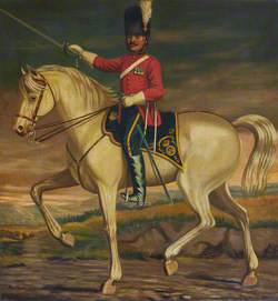 Sergeant Meickle of the Royal Scots Greys, Mounted