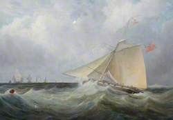 HM Armed Cutter 'The Active', Commanded by J. Hamilton