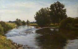Landscape (River Tyne near East Linton)