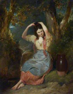 The Girl at the Well (Peasant Girl)