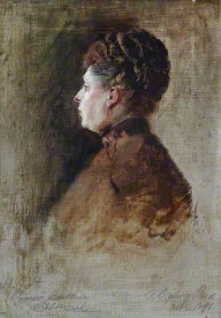 Sketch of HRH Princess Beatrice of Battenberg (1857–1944)