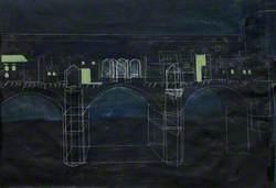 Ponte Vecchio-Notte
