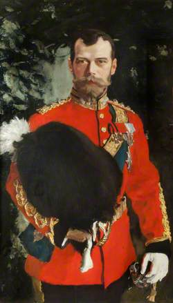 His Imperial Majesty Nicholas II, Emperor of Russia, KG, Colonel-in-Chief of the Royal Scot Greys