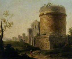 Ruined Tower in an Italianate Landscape
