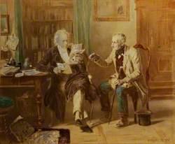 Two Gentlemen in a Study
