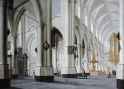 An Imaginary Dutch Church Interior