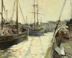 Sailing Vessels, William Wright Dock, Hull