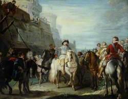 King Charles I at the Gates of Hull