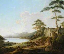 Lakeland Scene with a House