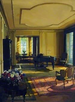 An Artist's Music Room
