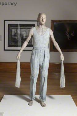 Man with Two Cloths