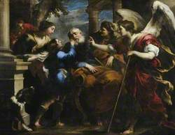 Tobias Healing the Blind Tobit