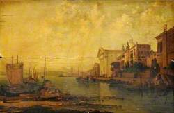 The Canal of the Giudecca and the Church of the Gesuati, Venice