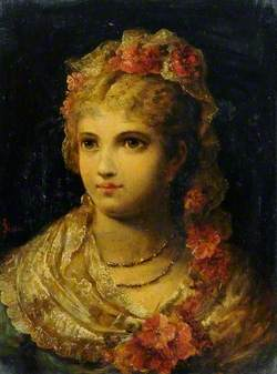 Portrait of a Woman in Lace*