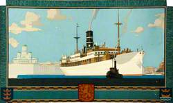 Shipping Scene in Finland