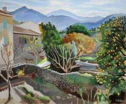 Landscape near Collioure, France