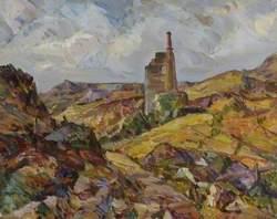 Cornish Landscape with a Tin Mine
