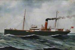 SS 'Hull' (Wilson and North Eastern Railway Shipping Company Limited, Hull)