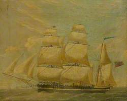 Barque 'Preasent'
