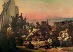 The Slave Trade (Slaves on the West Coast of Africa)