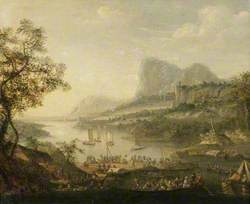 Landscape with a River and a Ferry