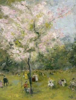 Spring in Regent's Park, London