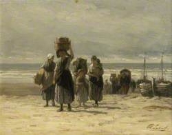 Arrival of Fishing Smacks