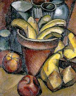 Still Life with Fruit and a Flower Pot