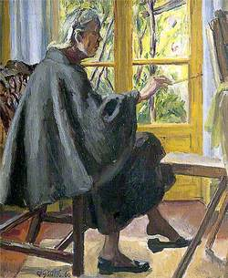 Vanessa Bell (1879–1961), Painting at La Souco