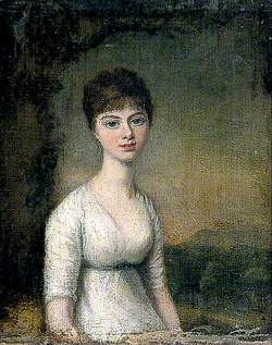 Young Woman in a Landscape