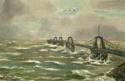 Chain Pier, Brighton, East Sussex, 4 December 1896
