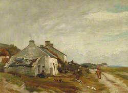 Cottages and Fishermen on the Coast of Fife