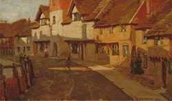 Roofs of Horsham Stone