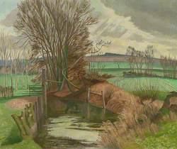 Disused Canal, Wormingford, Essex