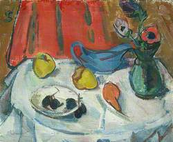 Still Life: Fruit and Anemones