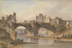 River Landscape with Bridge and Castle