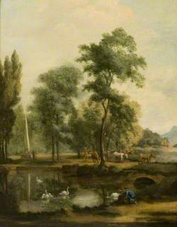 Landscape by a River